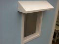Blue Cubby House - Window Hoods