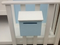 Blue Cubby House includes Mailbox