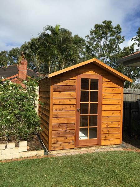 cedar garden shed thornlands brisbane springwood