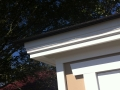 Timber Closet Garden Shed - Roof Fascia