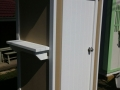 Timber Closet Garden Shed - Outside Shelf
