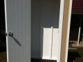 Timber Closet Garden Shed - Inside with Lockable Door
