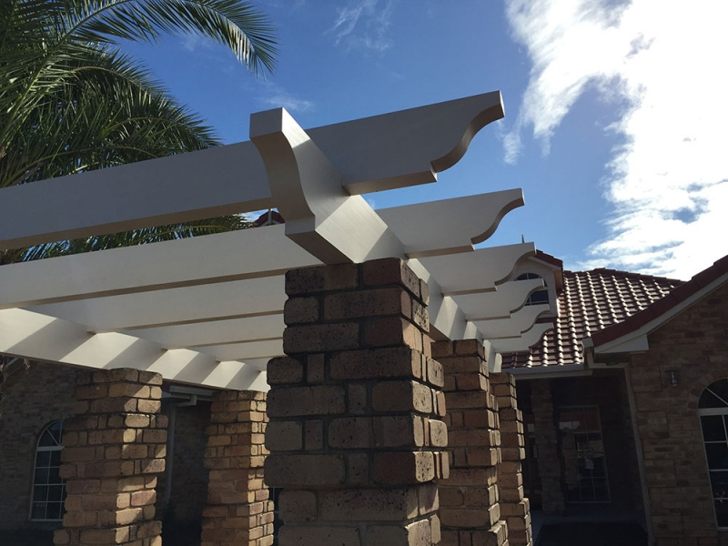 Front Entrance Pergola Profile