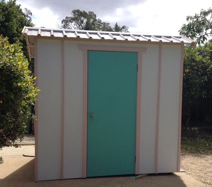 Garden Sheds Brisbane timber garden shed   unpainted   made to order   thornlands   brisbane