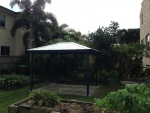 Pine Gazebo with Colorbond Roof