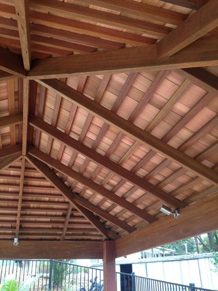 Cedar Ceiling