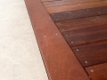 Kwila Deck Fit Perfectly to the Tile Surround