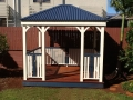Pine Gazebo With Hand Railing