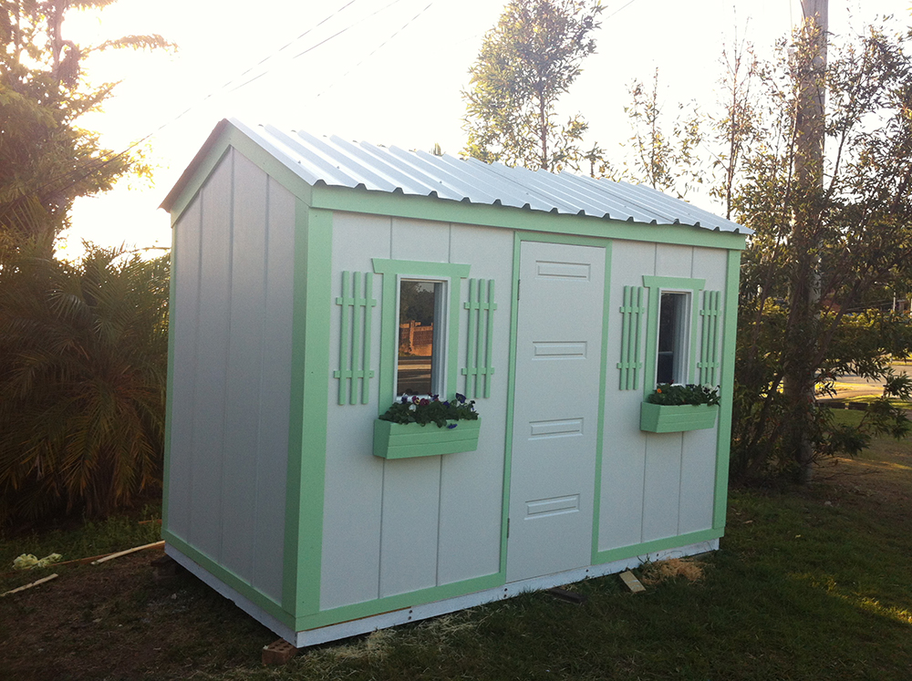 Timber garden shed garden envi springwood brisbane qld for Cheap small sheds