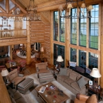 Luxury Log Home Building  in USA