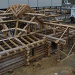 Log Home Construction  in Canada