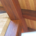 Timber Frame Joinery in Brookfield