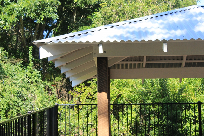 Colorbond Roof with 600 mm Overhang