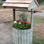 Handcrafted Timber Wishing Well