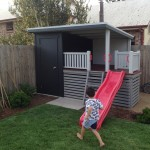Garden Shed with Cubby House
