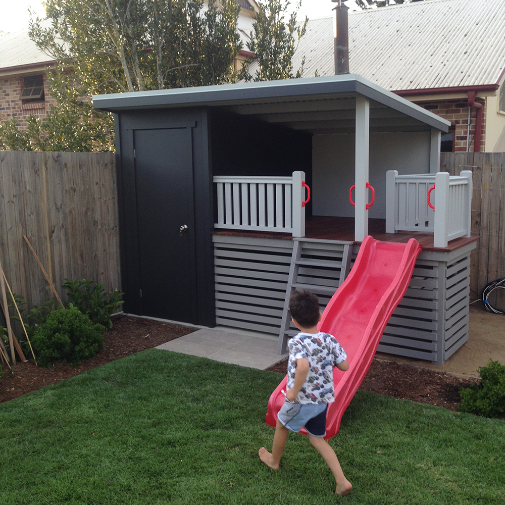 Garden Shed With Cubby House Yeronga Brisbane