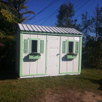 Garden Shed Converted into Cottage Sytle Cubby